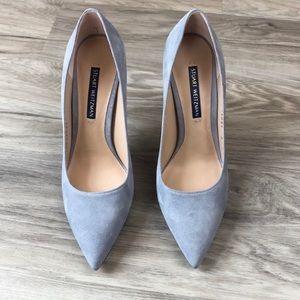 Stuart Weitzman Gray Heels